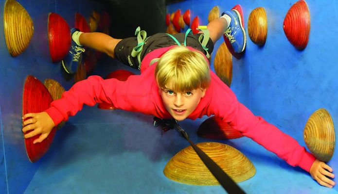 Clip 'n Climb at the Quay