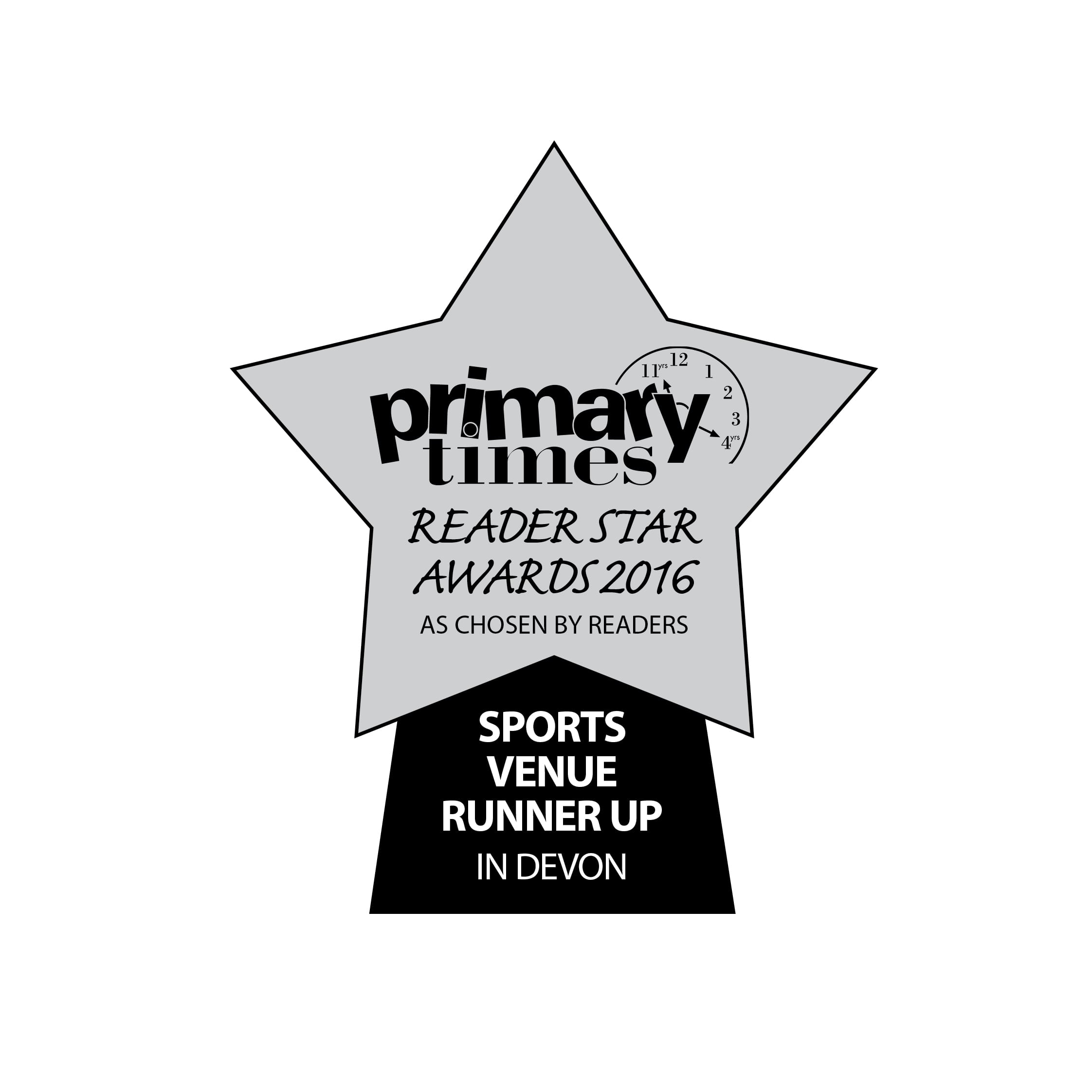 Clip 'n Climb Exeter – Runner Up in the Primary Times Reader Awards…