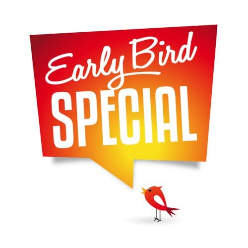 The early bird catches the worm…